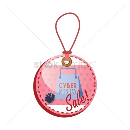 Terms : Cyber monday sale tag