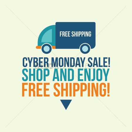 Monday : Cyber monday sale with free shipping