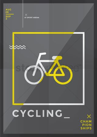 Poster : Cycling championships design