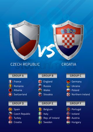 Ukraine : Czech republic vs croatia