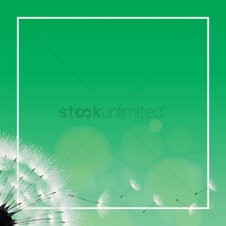 Copyspaces : Dandelion background