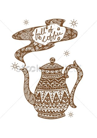 Teapot : Decorative teapot design