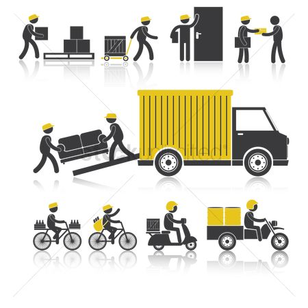 Lorries : Delivery services