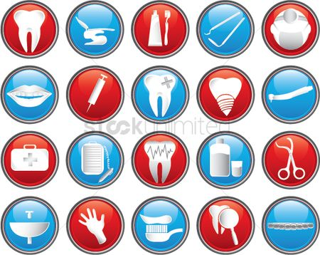 Faucets : Dental icons