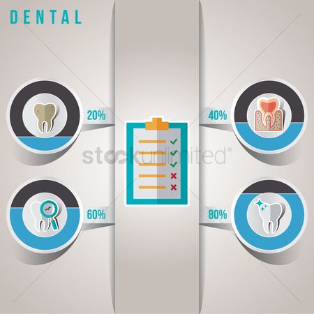 Clean : Dental infographic