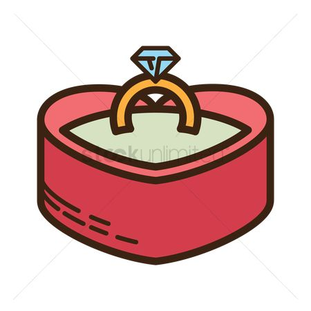 Proposal : Diamond ring in a box