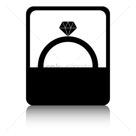 Proposal : Diamond ring in box