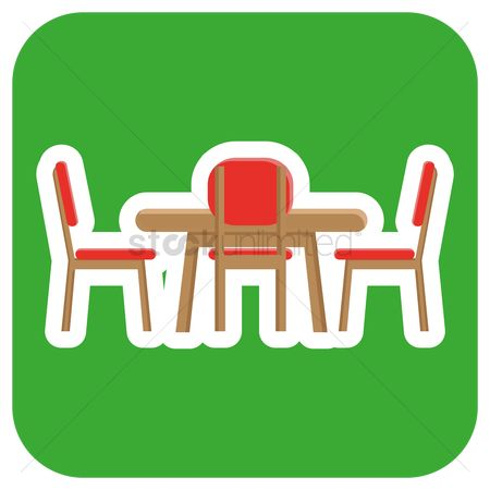 Dine : Dining table and chairs