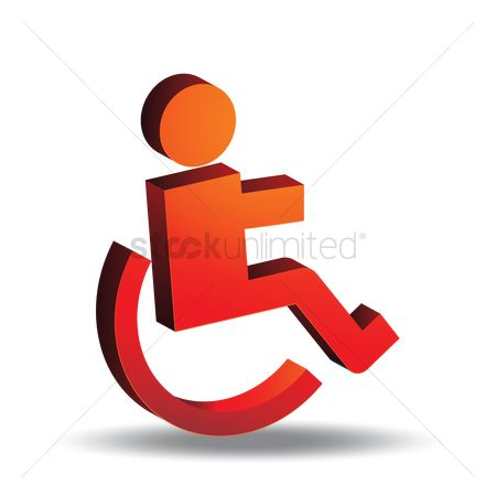 Wheelchair : Disabled symbol