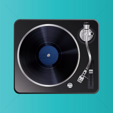 Audio : Dj turntable