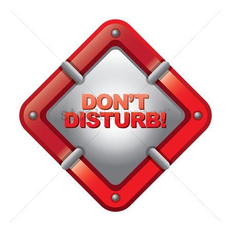 free do not disturb stock vectors stockunlimited