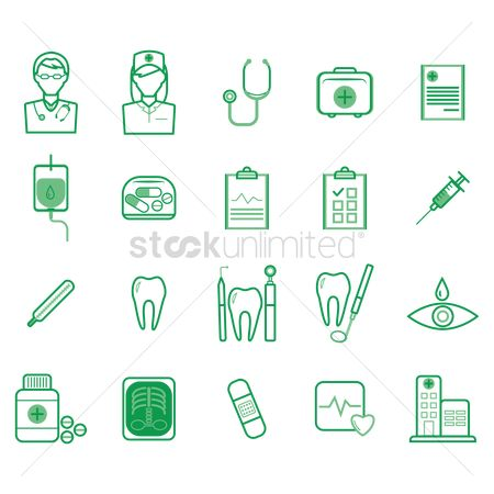 Bandages : Doctor icons