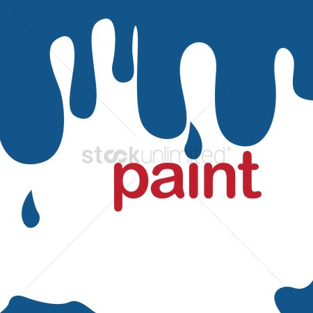 Dripping : Dripping paint background with text