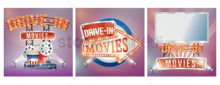 Billboards : Drive in movies