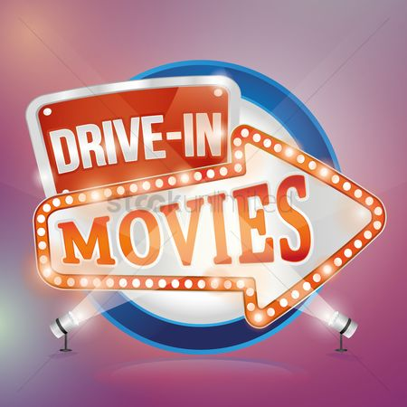 Signages : Drive in movies