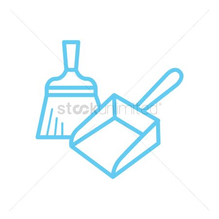 Cleaners : Dustpan and hand sweeper