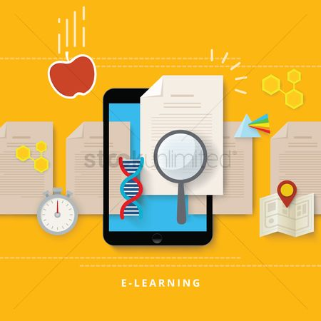 Dna : E-learning concept