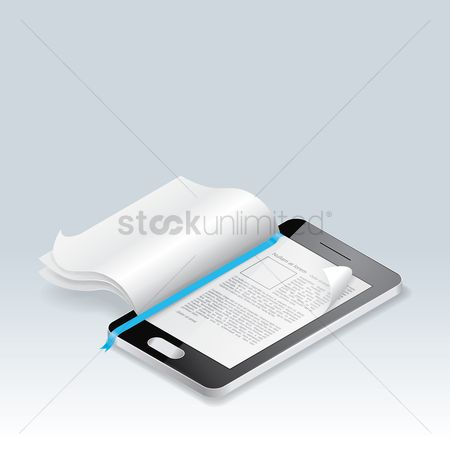 Screens : Ebook reader concept