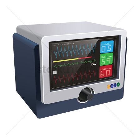 Clinicals : Ecg monitor