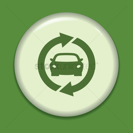 Fuel : Eco car icon