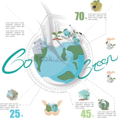 Clean : Ecology infographic