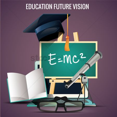 Blackboard : Education future vision design