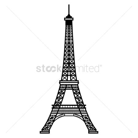 Tourist attractions : Eiffel tower
