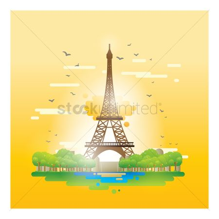 Towers : Eiffel tower