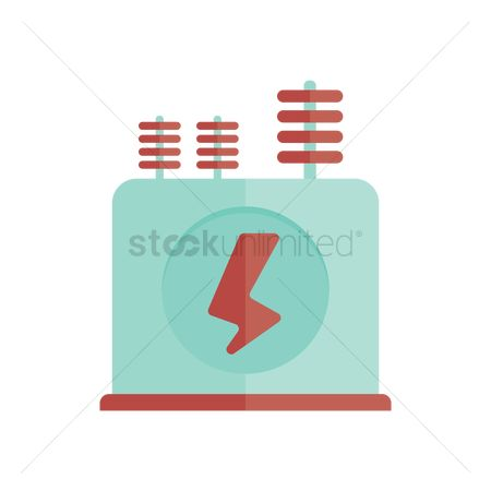 Electricity : Electric substation transformer