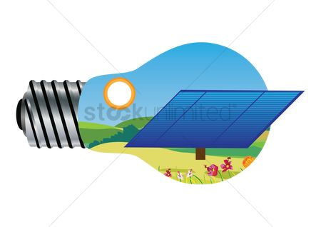 Panels : Electrical concept of solar panel