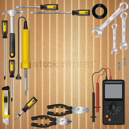 Screwdriver : Electrician workspace design