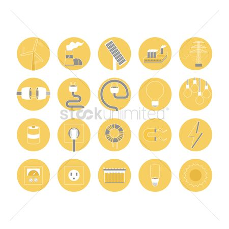 Charging icon : Electricity icons