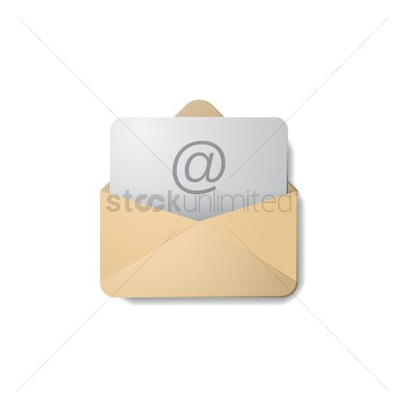 Open : Email icon