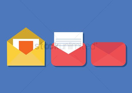 Icons news : Envelopes