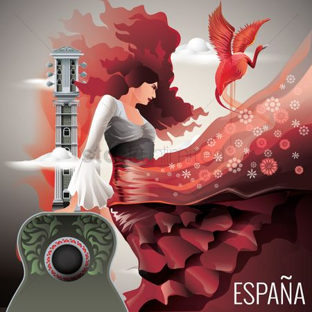 Dancing : Espana wallpaper