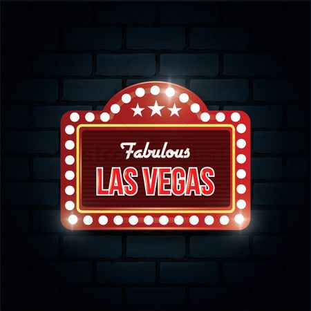 Brick : Fabulous las vegas sign
