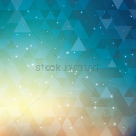 Abstract : Faceted background