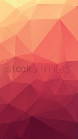 Polygon : Faceted background