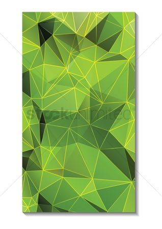 Geometrics : Faceted wallpaper for mobile phone