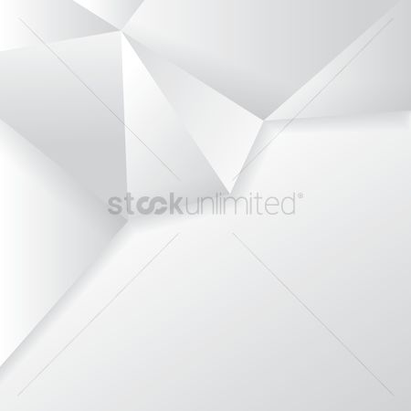 Clean : Faceted white background