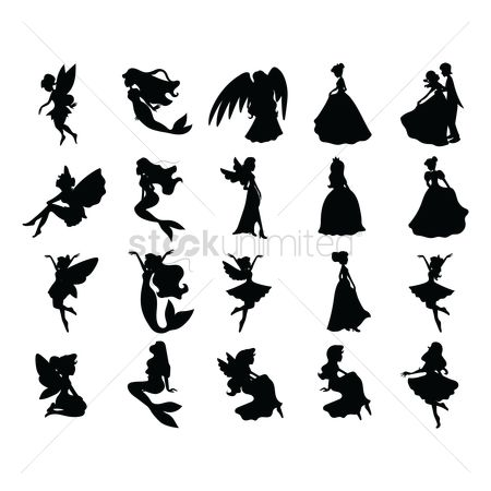 Person : Fairy tale silhouettes