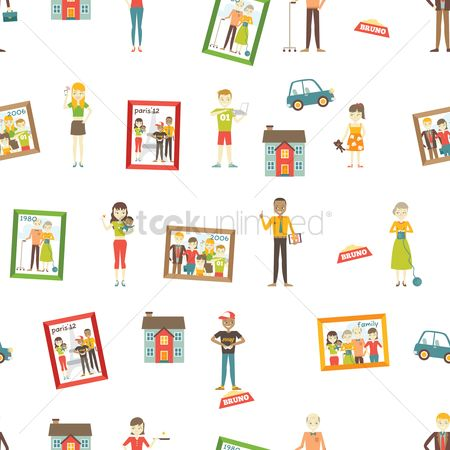 free family backgrounds stock vectors stockunlimited