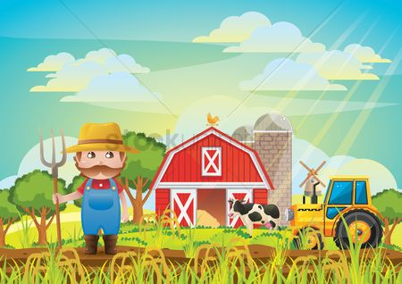 Transport : Farmer background