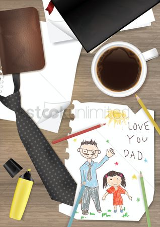 Highlighter : Father s day design
