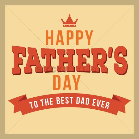 Vintage : Father s day design