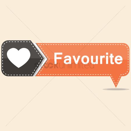 Heart : Favorite button