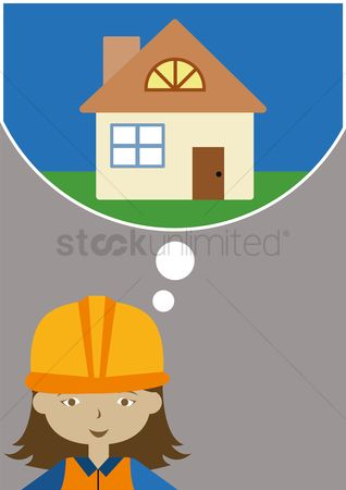 Contractor : Female architect