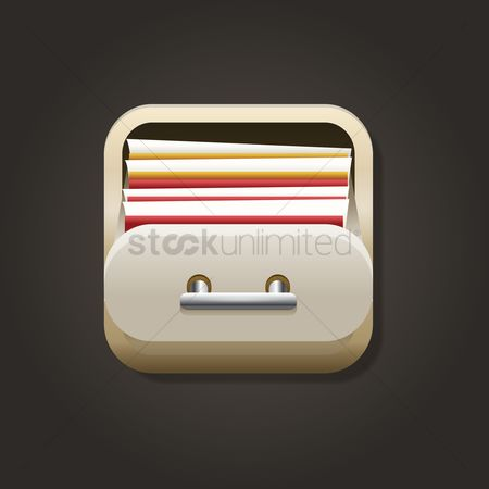 Portfolio : File manager icon