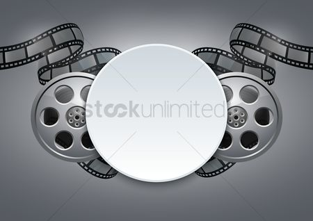 Photography : Film reel design