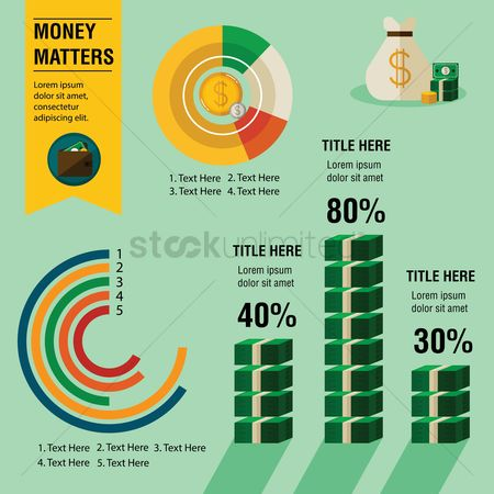 Sack : Finance infographic